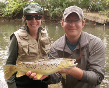 ohio brown trout fly fishing guides