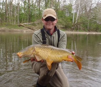 fly fishing for carp in ohio