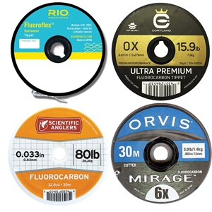 Fluorocarbon Leader and Tippet Material
