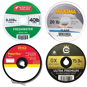 Fly Fishing Tippet Materials-Freshwater