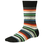 smartwool women's margarita socks black multi stripe