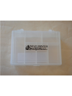 mad river outfitters small utility fly box 6 compartments