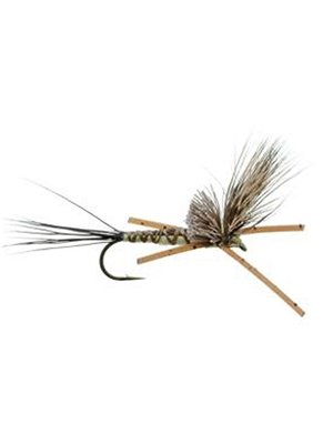 brown comparadrake dry fly