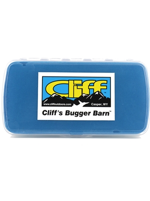 bugger barn fly box cliff outdoors