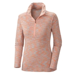 Columbia W's Outerspaced Half-Zip coral glow