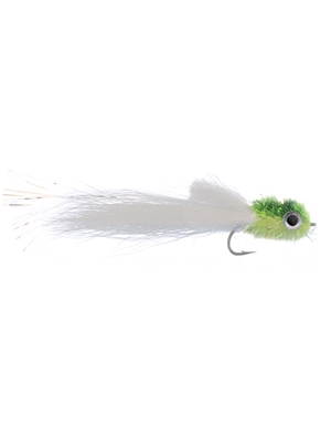 Murdich Minnow streamer chartreuse