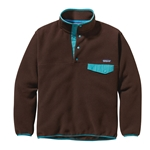 Patagonia M's Snap-T Pullover java brown