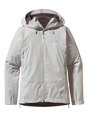 patagonia women's super cell jacket tailored gray