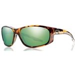 smith optics chamber sunglasses green mirror brown