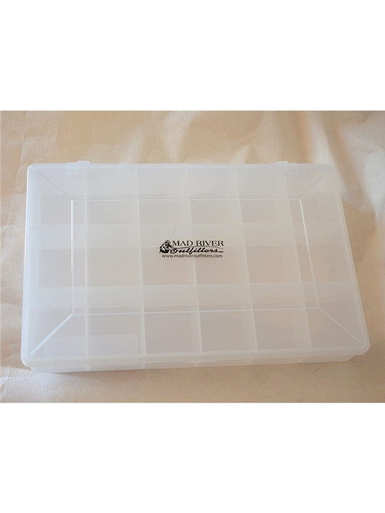 mad river outfitters 18 compartment utility fly box