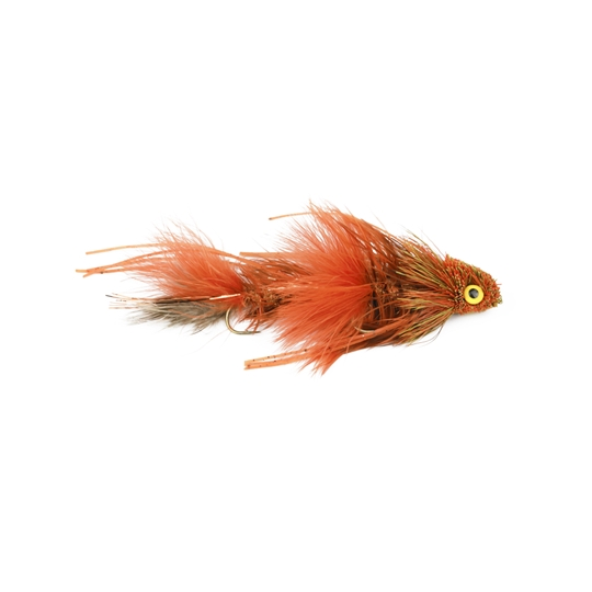 Kelly galloup's sex dungeon streamer fly crawfish orange