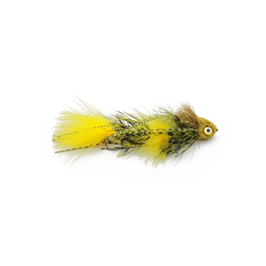 Kelly galloup's sex dungeon streamer fly yellow