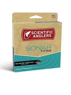 scientific anglers sonar titan big water max sinking fly line saltwater fly lines