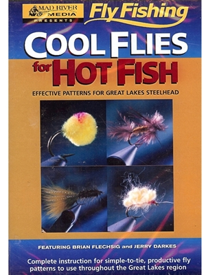 cool flies for hot fish DVD Fly Tying Books