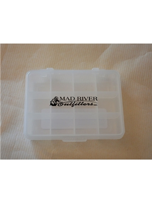 mad river outfitters small utility fly box 12 compartments