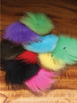 arctic fox tail hair new fly tying items