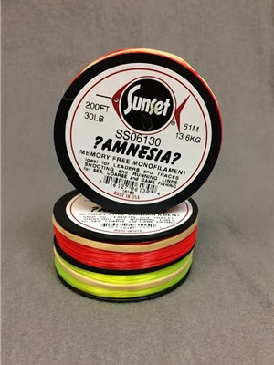 amnesia memory free monofilament steelhead fly fishing
