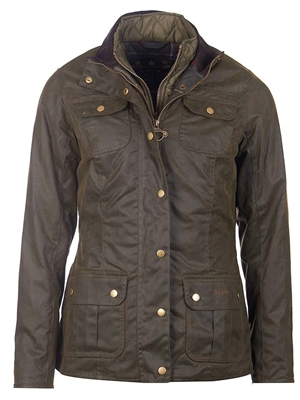 Barbour Women's Ashley Wax Jacket Barbour- Waxed Cotton Jackets