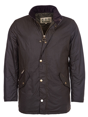 barbour prestbury wax jacket