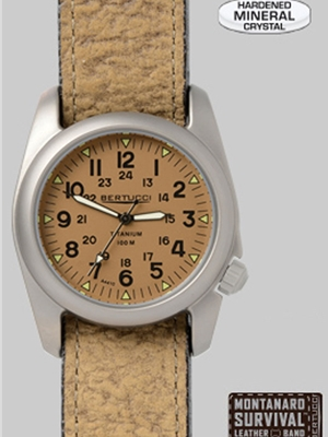 Bertucci a-2t vintage 12082 Bertucci Field Watches