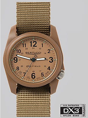 Bertucci DX3 Field watch 11021 Bertucci Field Watches