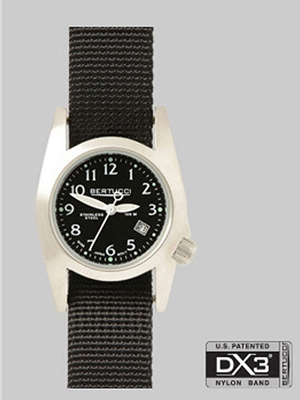 Bertucci M-1S Womens black 18000 Bertucci Field Watches