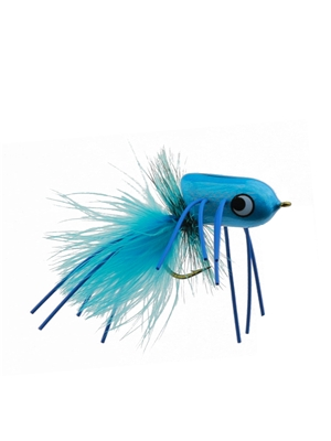 boogle bullet damsel blue Largemouth Bass Flies - Surface  and  Divers