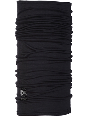 BUFF Lightweight Merino Wool in black. mad river outfitters Men's Sun and Bug Gear