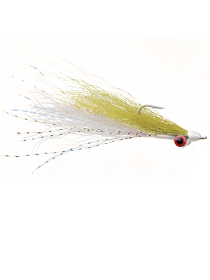 clouser minnow olive white