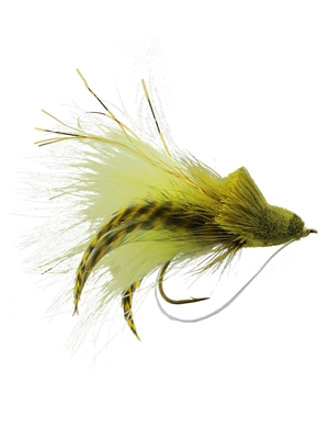 dahlberg diver frog Largemouth Bass Flies - Surface  and  Divers