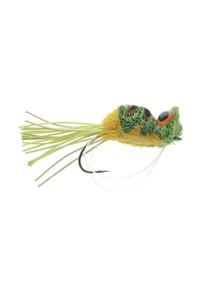 jim stewart's dancing frog fly Largemouth Bass Flies - Surface  and  Divers