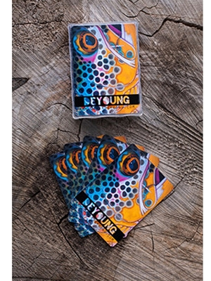 DeYoung Brown Trout Playing Cards