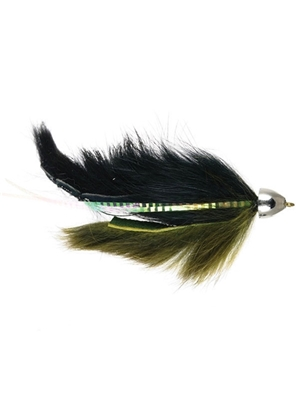 dolly llama black olive flies for alaska and spey