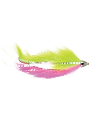 dolly llama pink chartreuse michigan steelhead and salmon flies