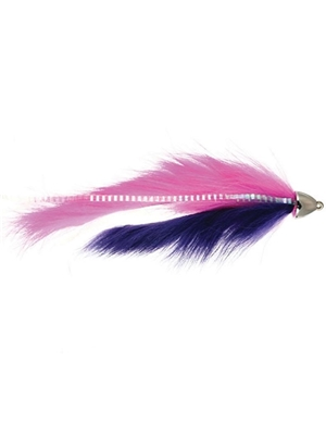 dolly llama fly pink purple flies for alaska and spey