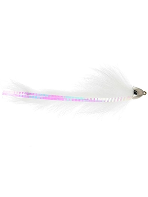 dolly llama fly white michigan steelhead and salmon flies