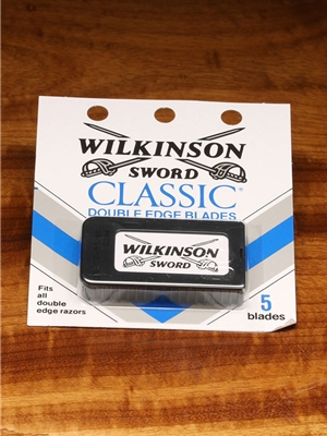 Wilkinson Sword Classic Double Edge Razor blades Misc. Fly Tying Tools
