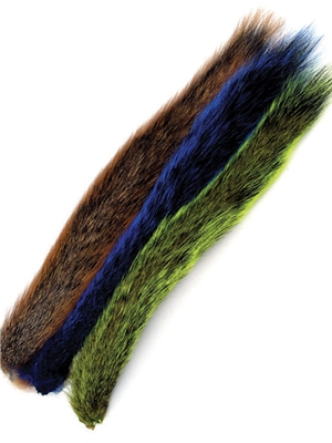 dyed squirrel tails