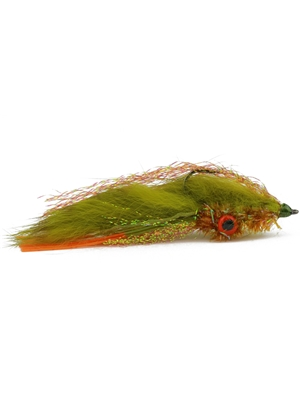 ehler's long strip crayfish fly olive Crayfish