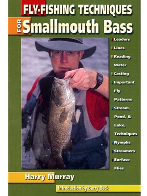 Fly Fishing Techniques for Smallmouth Bass by Harry Murray New Books and DVD's