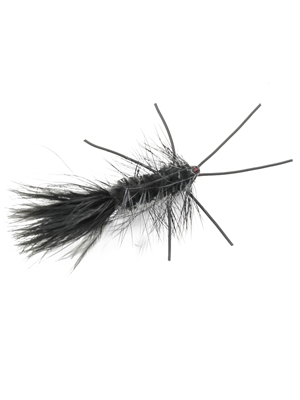 galloup's warbird fly black Wooly Buggers