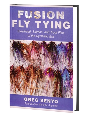 fusion fly tying greg senyo New Books and DVD's