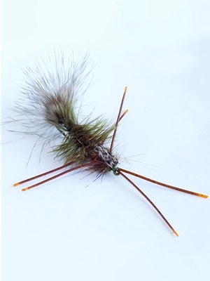 Big Nasty- Howell's Largemouth Bass Flies - Subsurface