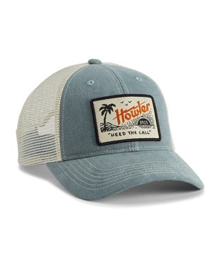 Howler brothers standard hat paradise slate blue cool fly fishing hats