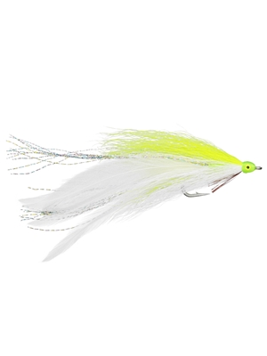 lefty's big fish deceiver chartreuse musky flies