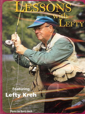Lessons with Lefty DVD Fly Casting and Knot Tying