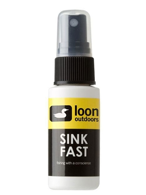 loon sink fast fly line cleaners and accessories