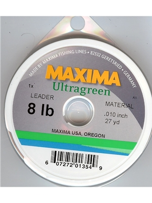 maxima ultragreen steelhead fly fishing