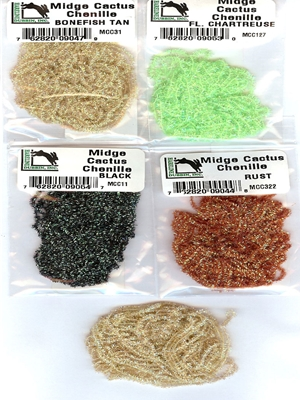 midge cactus chenille Eggs  and  Steelhead