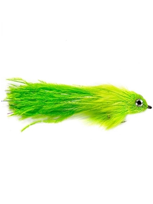 montauk monster fly chartreuse musky flies